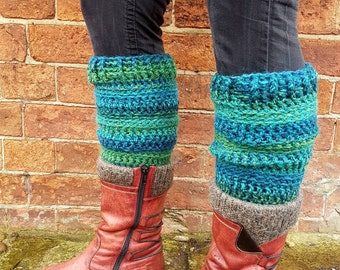 Handmade Crochet Legwarmers