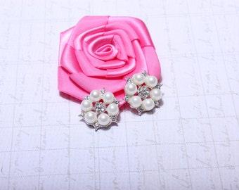 5 Pcs 23mm Rhinestone Flatback DIY Rhinestone Embellishments,wedding rhinestone,Wholesale Button Embellishment, phone decor