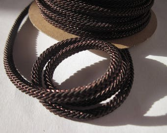 1 meter of braided cotton reinforced with 4 mm thick (141)