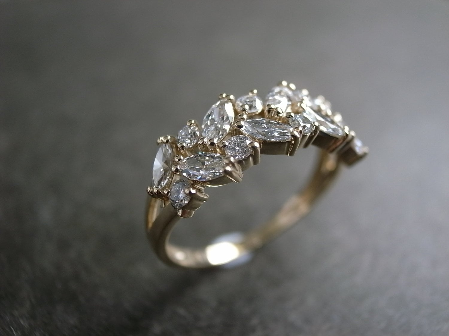 unique fullxfull design rings branch listing ring yellow proposal sapphire il gold leaves promise engagement leaf wedding