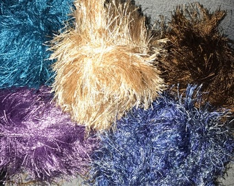 soft  fun fibers trim many colors choose one or many! 3yds
