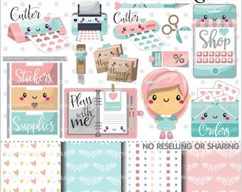 Planner Clipart, 80%OFF, Planner Graphics, COMMERCIAL USE, Planner Icons, Planning Clipart, Planner Accessories, Planner Girl, Plan