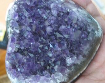 AAA Amethyst heart geode quartz crystal Uruguay