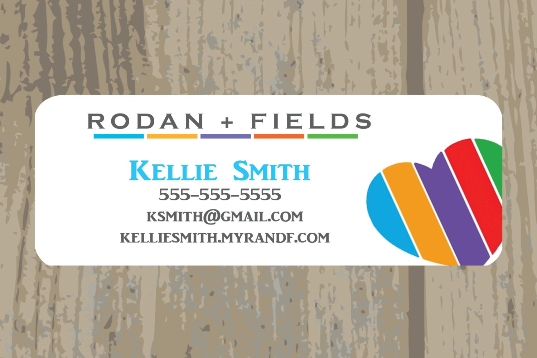 Rodan Fields Sticker Address Labels Printed Stickers