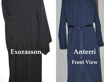 Cassocks (Anterri and Exorasson) Eastern Orthodox Byzantine Style Custom Made to Order!
