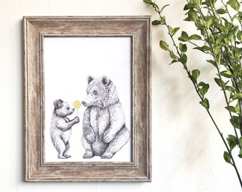 From One Bear to Another Print