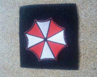 Umbrella Corp Resident Evil Paintball BBGUN embroidered Patch Badge with hook fasteners