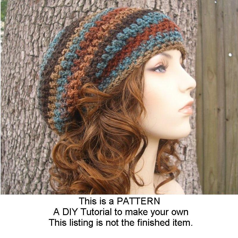 Instant Download Crochet Pattern Hat Crochet Pattern