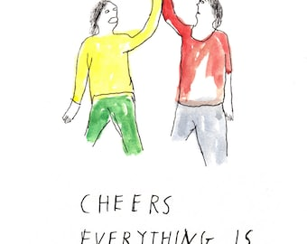 Cheers - Print
