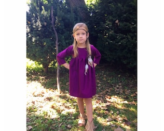 girls dresses, baby dress, dresses, purple dress, fall dress, toddler dress, fall fashion, family pictures,birthday outfit,birthday present