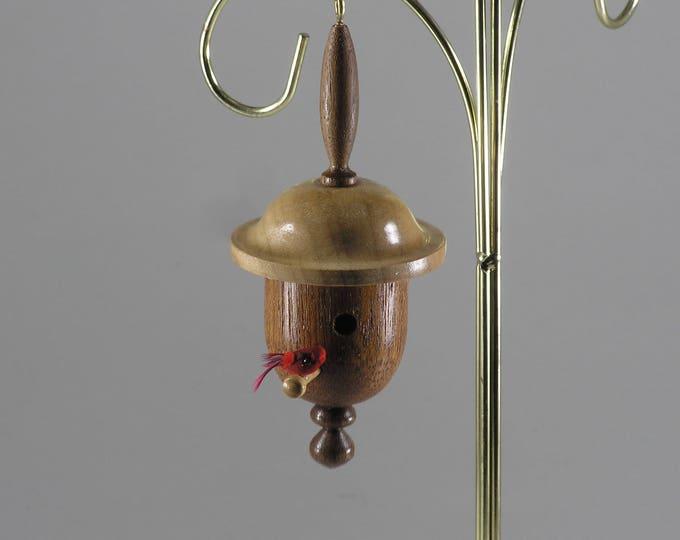 Birdhouse Christmas ornament #2