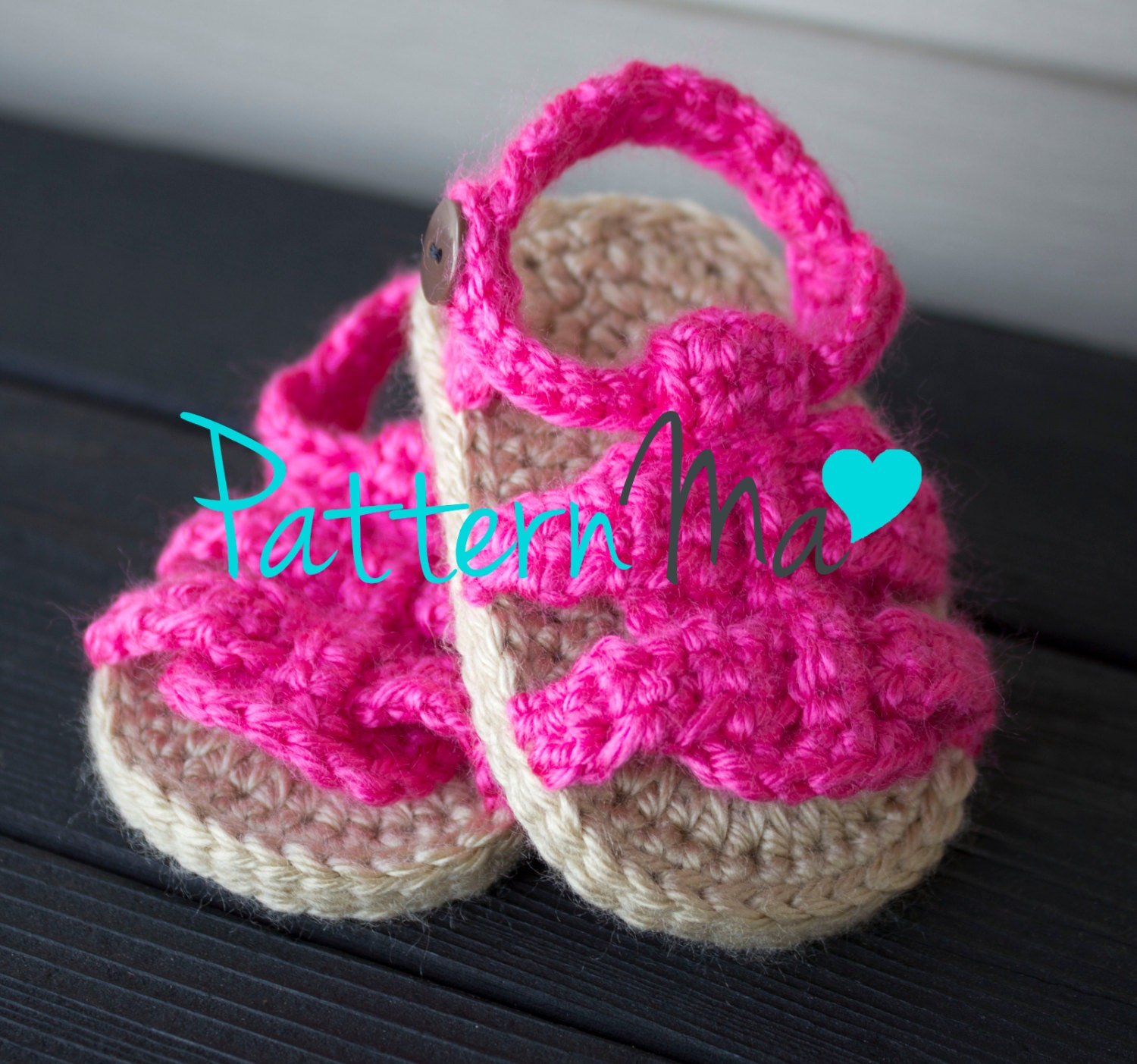 Crochet Baby Sandals Pattern Boy or Girl #9 from PatternMa on Etsy ...