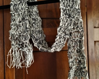 Soft Crochet Accent Scarf