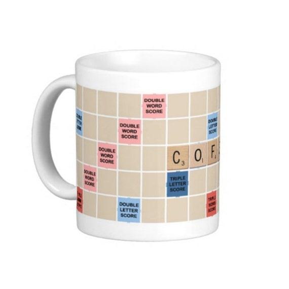 Coffee Mug Coffee Scrabble Mug