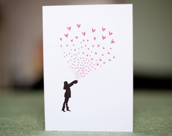 Release you Love - Blank greetings card