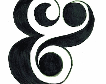 Print: Ampersand Love