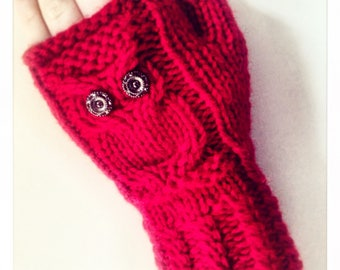 Owl Gloves by GingerOriginal