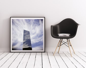 lomography, fine art photography, holga photography, abstract photograph, large wall art, home decor, office decor, reflection, square photo
