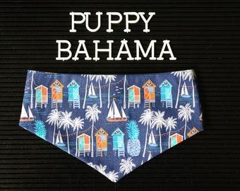 Puppy Bahama bandana