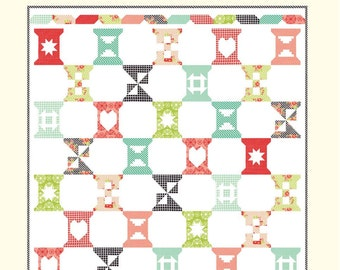 Spool Sampler by Bonnie Olaveson of Cotton Way  9949P Printed Pattern