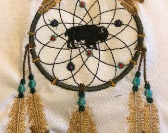 Embroidered Buffalo Tshirt