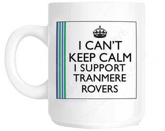 Tranmere Rovers Novelty Fun Mug CH388