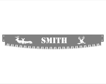 Personalized Crosscut Saw Blade