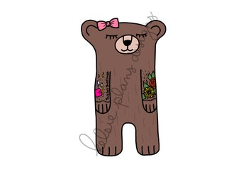 Sleepy Bear is Tattoed