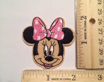 Pink Minnie Mouse Patch