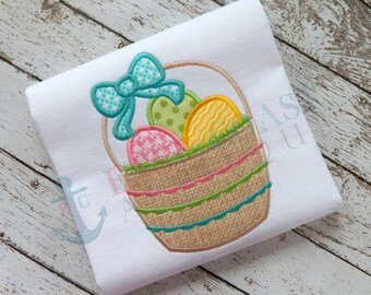EASTER BASKET machine embroidery design