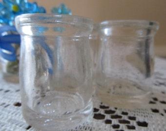 1 Vintage Glass Creamer Bottle