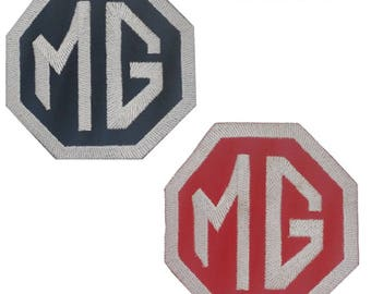 MG Motors Embroidery iron sew on Patch Badge