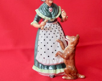 "Royal Doulton Limited - HN2314 Old Mother Hubbard 7 5/8"" H (#1238)"