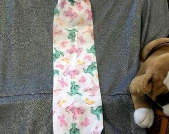 Plastic Bag Holder Sock, Kittens N Butterflies Print