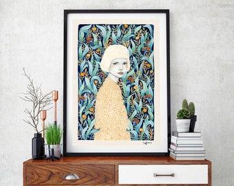 Emilia by Sofia Bonati Art Print