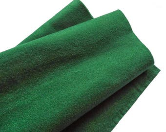 Fieltro de color Verde Oscuro, rollo fieltro, Tamaño 25 cm x 90 cm, fieltro muy suave al tacto, fieltro acrilico, fieltro de gran calidad