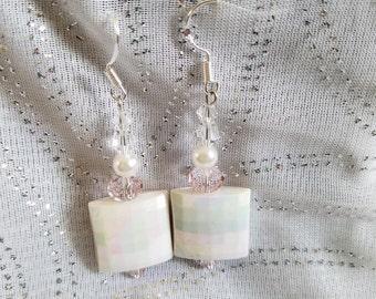 Iridescence Aura Dangle Earrings