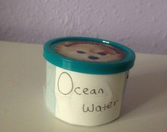 Stress dough- ocean  water