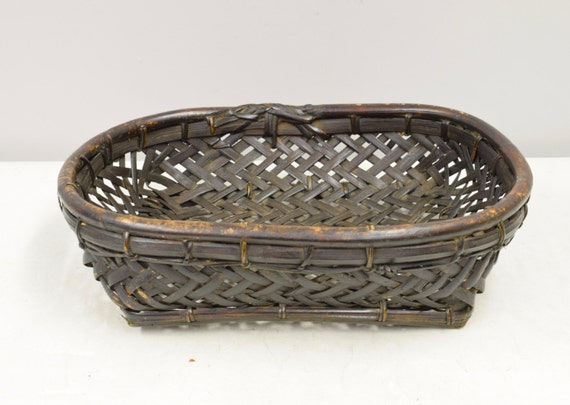 Basket Rattan Sieve River Snail Collecting Basket Ifugao Philippines Handmade Woven Rattan Basket Collecting Snail Unique