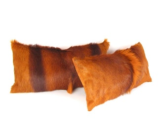 Orange Fur Pillow ~ BEST SELLER
