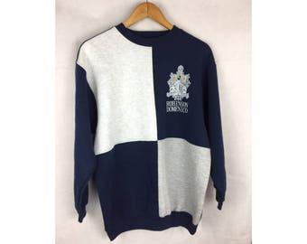 ROBINSON DEMENICO Large Size Sweatshirt Long Sleelve Big Logo Speel out