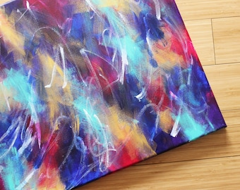 16 x 20 'Promise' Original Acrylic Abstract Painting On Gallery Wrapped Canvas