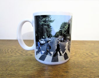 Vintage Beatles Mug - Abbey Road Coffee Mug - Beatles Coffee Mug - Collectible