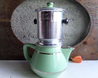 French Vintage Coffee maker Art deco Style 1930s