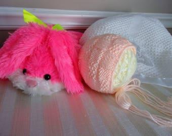 A Tisket A Tasket Bonnet (PATTERN ONLY)