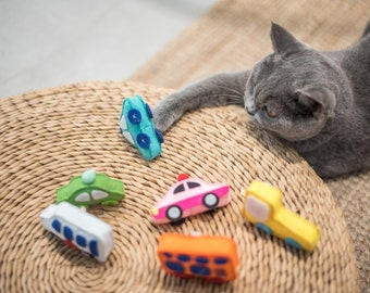 Interactive Toys for Cats and Kittens (Cat in the City)