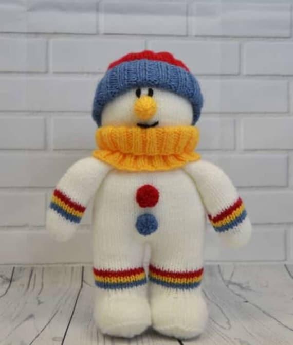 mod le tricoter festive entre amis bonhomme de neige. Black Bedroom Furniture Sets. Home Design Ideas