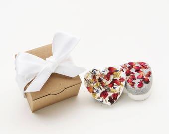 Flower Bath Bomb Set/  Bath Bomb Gift/ Bath Bomb Gift Box/ Spa Gift Set / Bath Fizzie Set/ Bath Bomb Gift Set/ Bath Bomb Set
