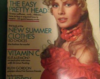 April 1, 1971 Vogue Magazine