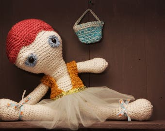 Ballet dancer doll